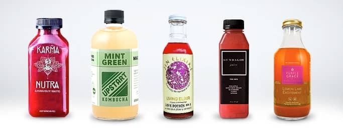 Juice Bottle Labels