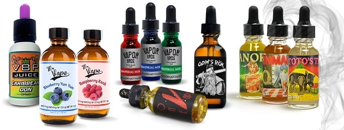 E-Juice Vape Labels